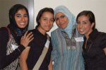 Above, students from Oman, Tunisia, Saudi Arabia and Israel.