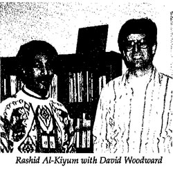 Rashid Al-Kilyum with David Woodward