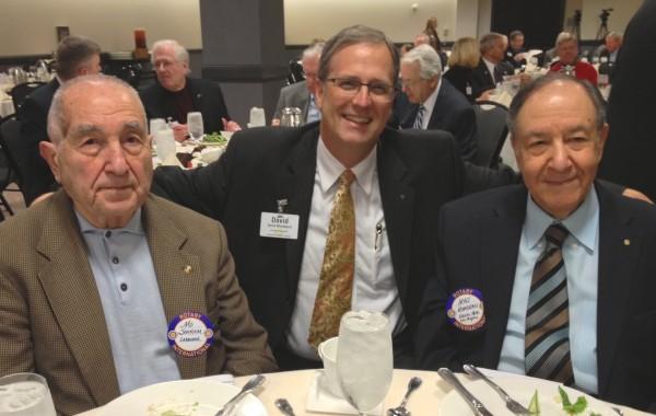 Iraj, Mahmud, and David at Rotary
