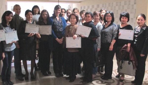 Sally Kazakh Teacher Training