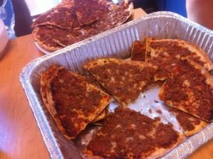 A Saudi Arabian version of pizza?