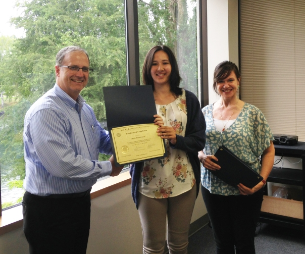 SELP future leaders received certificates of completion at the A.C.E. coursework graduation ceremony